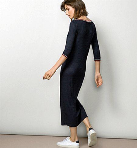 Трикотажное платье Massimo Dutti