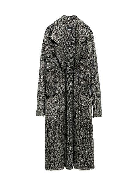 Длинное пальто Zara