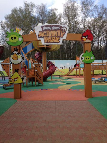 Vnukovo Angry Birds